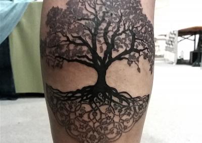 Yggdrasil tree of life tattoo